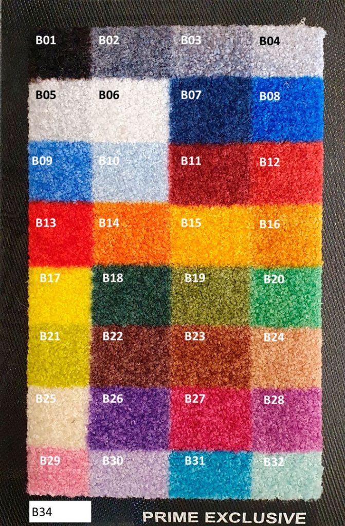 Logomåtte farvepalette